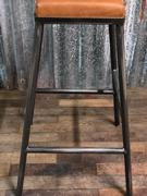 Industrial- vintage-  antigue pine- decorations style Industrial Chair in Leather, european 1960