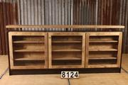 Industrial  vintage style Customized counter bar in wood, european 2017