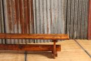Industrial Vintage  style Vintage Bench in wood, european 1960