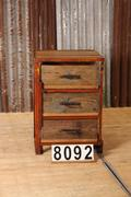 Industrial  vintage style Vintage Cabinet in wood, european 1960