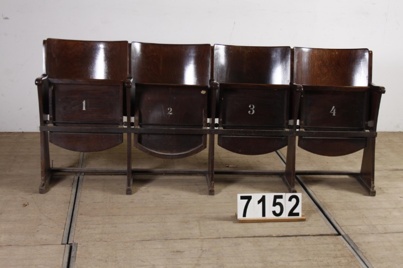 1 Industrial Vintage Vintage Cinema Chairs   Furniture   Industrial And  Vintage   Antiekgroothandel