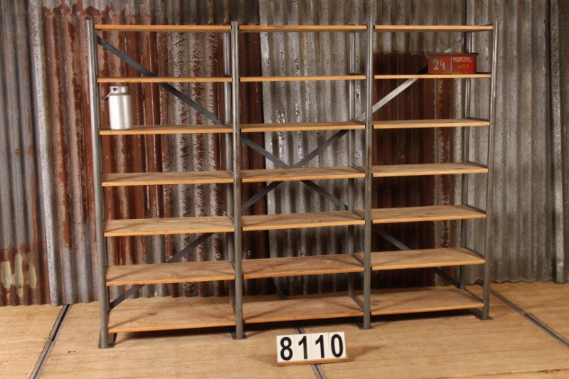 newest collection 293fb f0c66 1 Industrial vintage vintage shelving rack unit - Furniture ...