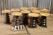 style Industrial vintage decoration stool