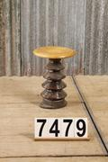 10  Industrial vintage decoration stool