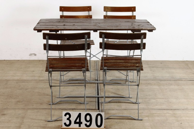 Super 100 Vintage Industrial Bistro Set Table Chair Furniture Gmtry Best Dining Table And Chair Ideas Images Gmtryco