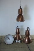 Industrial, vintage style Factory Light in Metal, European 20th century
