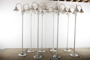 8 Industrial  vintage Standing lights