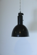 Industrial style Light in Metal, European 20th century