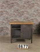 Industrial retro vintage workbench/desk/sidetable
