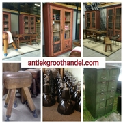 Industrial  vintage STEEN ANTIQUES WORLDWIDE EXPORT VINTAGE INDUSTRIAL ANTIQUES ALMELO HOLLAND