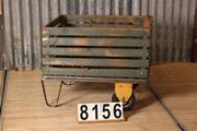 Industrial  vintage style Trolley in metal/wood, European 20th century
