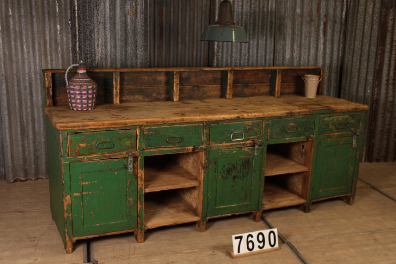 Industrial Vintage Workbench Table Workbench Search Results European Antiques Decorative