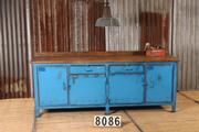 Industrial  vintage Workbench,table