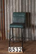 style Luxe industrial retro barstool 6 colors in Pull up leather