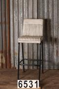 style Luxe industrial retro barstools 6 colors in Pull up leather