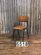 Retro/vintage Retro industrial vintage leather chairs 2 colors