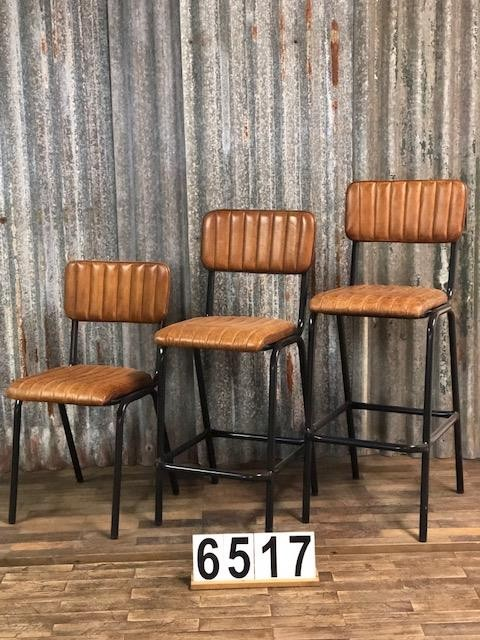 Retrovintage Retro industrial vintage chairs 2 colors 05 Chairs