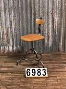 Vintage retro machinist Stool